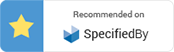 Recommended on SpecifiedBy Gold Star