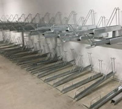 Two Tier Bike Racks & Shelters