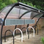 10 Space Moon Cycle Shelter - bespoke