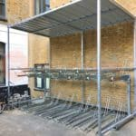 20 Space Cambridge Two Tier Cycle Shelter
