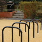 Sheffield Cycle Stand - Galv and black 4