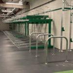 Two Tier Bike Rack - PPC 2 Green