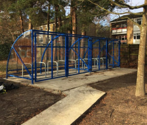 20 Space Original Shelters - Harmans Water Primary School